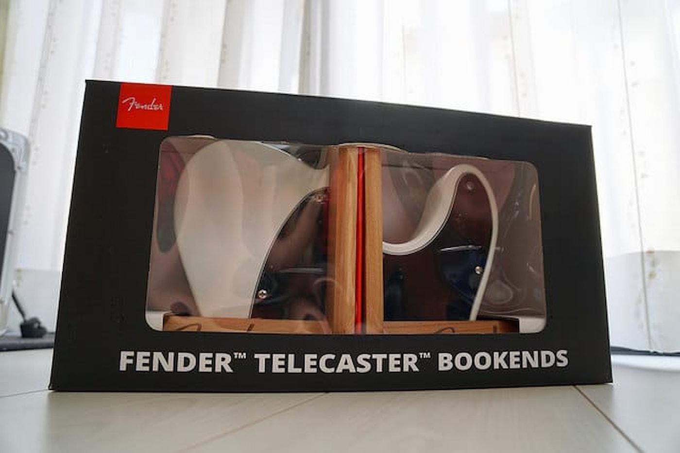 にわかテレキャスターファンはFender Telecaster Bookendsをゲットした。